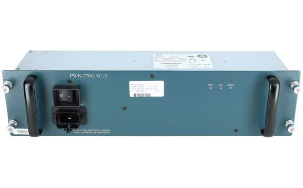 Cisco - PWR-2700-AC/4= - 2700W AC Power Supply for Cisco 7604/6504-E