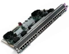 Cisco - WS-X4524-GB-RJ45V= - Catalyst 4500 PoE 802.3af 10/ 100/1000 24-ports (RJ45)