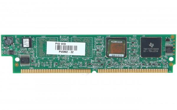 Cisco - PVDM2-32= - 32-Channel Packet Voice/Fax DSP Module