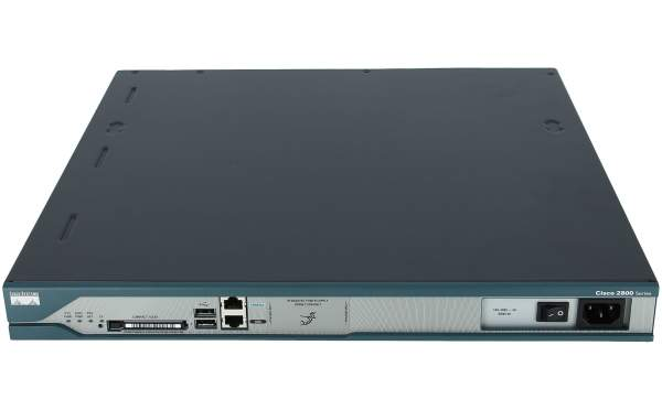 Cisco - CISCO2811-SEC/K9 - 2811 Security Bundle,Adv Security,64F/256D