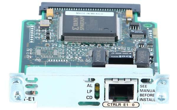 Cisco - VWIC-1MFT-E1 - 1-Port RJ-48 Multiflex Trunk - E1