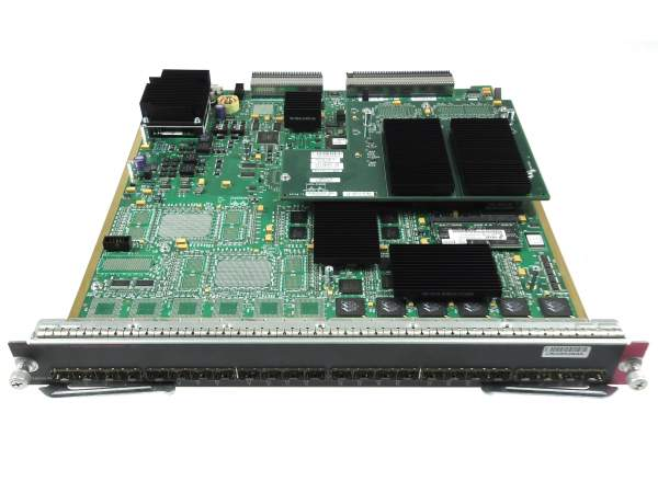 Cisco - WS-X6724-SFP= - Catalyst 6500 24-port GigE Mod: fabric-enabled (Req. SFPs)