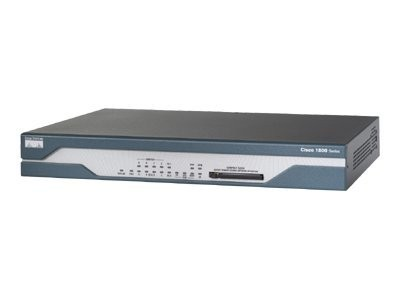 Cisco - CISCO1802/K9 - ADSL/ISDN Router with Firewall/IDS and IPSEC 3DES