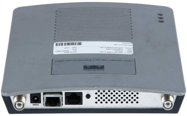 Cisco - AIR-AP1230B-E-K9 - 802.11b IOS AP w/Avail CBus Slot, ETSI Cnfg