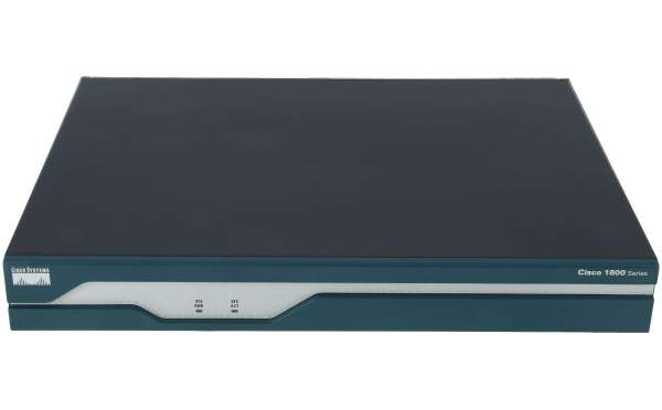 Cisco - CISCO1841-HSEC/K9 - 1841 Security bundle w/AIM-VPN,Adv.IP Svcs,64FL/256DR
