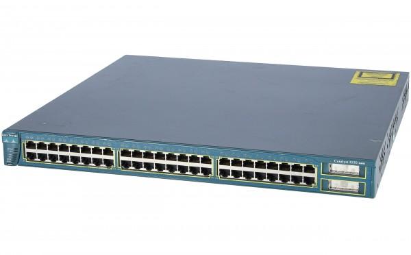 Cisco - WS-C3550-48-EMI - 48-10/100 + 2 GBIC ports: EMI