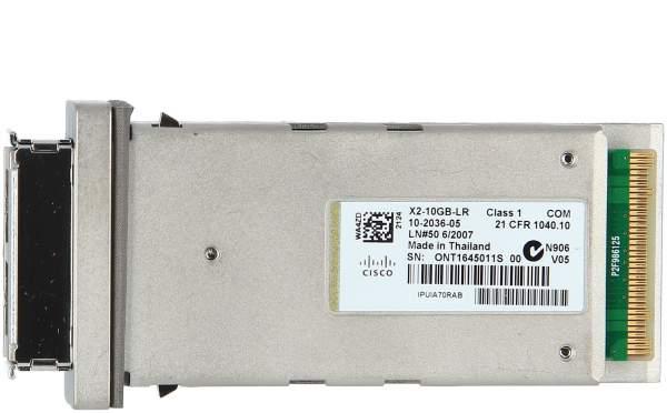 Cisco - X2-10GB-LR= - 10GBASE-LR X2 Module