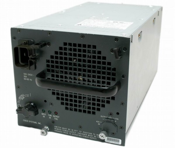 Cisco - WS-CAC-3000W= - Catalyst 6500 3000W AC power supply (spare)