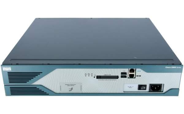 Cisco - CISCO2851 - 2851 w/ AC PWR,2GE,4HWIC,3PVDM,1NME-XD,2AIM,IP BASE,64F/256D