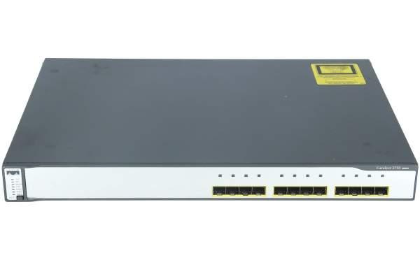 Cisco - WS-C3750G-12S-S - Catalyst 3750 12 SFP Standard Multilayer Image