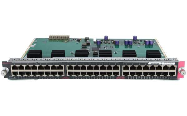 Cisco - WS-X4548-GB-RJ45= - Catalyst 4500 Enhanced 48-Port 10/100/1000 Base-T (RJ-45)