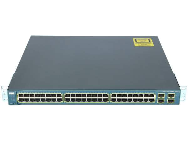 Cisco - WS-C3560G-48TS-E - Catalyst 3560 48 10/100/1000T + 4 SFP Enhanced Image
