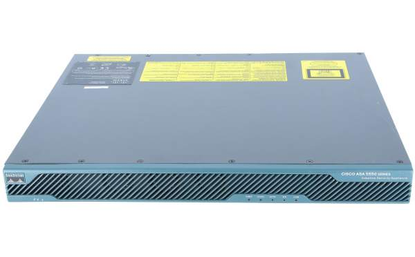 Cisco - ASA5550-BUN-K9 - ASA 5550 Appliance with SW, HA, 8GE+1FE, 3DES/AES