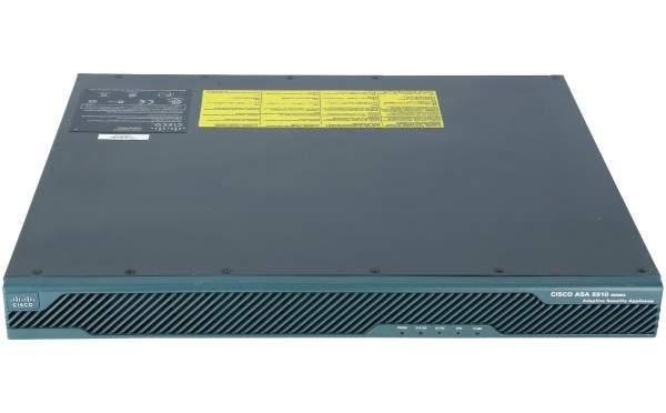 Cisco - ASA5510-BUN-K9 - ASA 5510 Appliance w/ SW, 50 VPN Peers, 3 FE, 3DES/AES