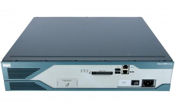 Cisco - CISCO2851-SRST/K9 - 2851 Voice Bundle w/ PVDM2-48,FL-SRST-96,SP Serv,64F/256D