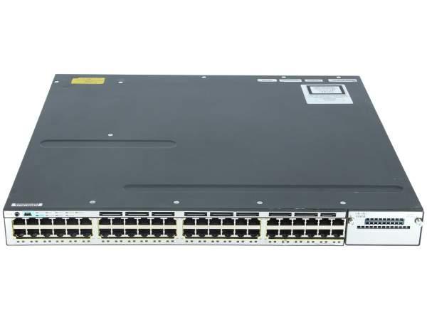Cisco - WS-C3750X-48P-E - Catalyst 3750X 48 Port PoE IP Services
