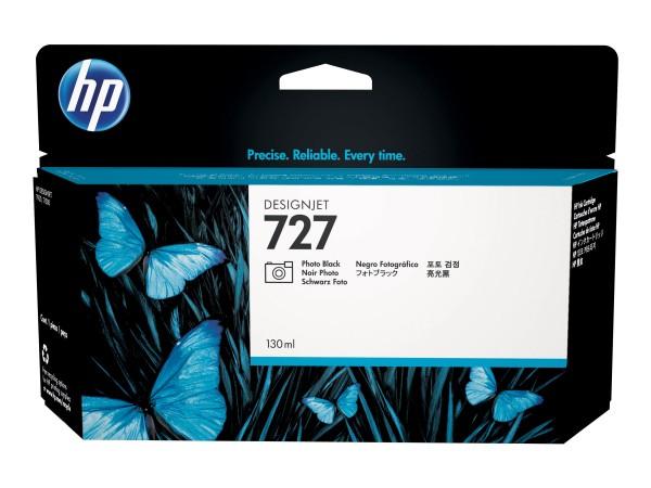 HP - B3P23A - 727 - Tintenpatrone Original - Matt- / PhotoSchwarz - 130 ml