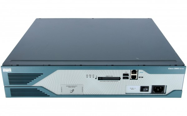Cisco - CISCO2851-V/K9 - 2851 Voice Bundle,PVDM2-48,SP Serv,64F/256D