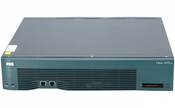 Cisco - CISCO3640 - Cisco 3600 4-slot Modular Router-AC with IP Software