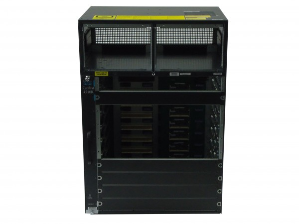 Cisco - WS-C4510R - Catalyst 4500 Chassis (10-Slot),fan, no p/s,Red Sup Capable
