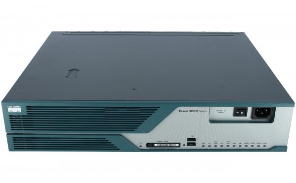 Cisco - CISCO3825-V3PN/K9 - 3825 V3PN bdle w/AIMVPN,PVDM2-64,CCME-168,AdvIPSvc,64F/256D