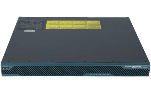 Cisco - ASA5520-BUN-K9 - ASA 5520 Appliance with SW, HA, 4GE+1FE, 3DES/AES