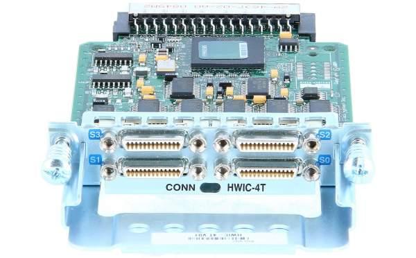 Cisco - HWIC-4T= - 4-Port Serial HWIC