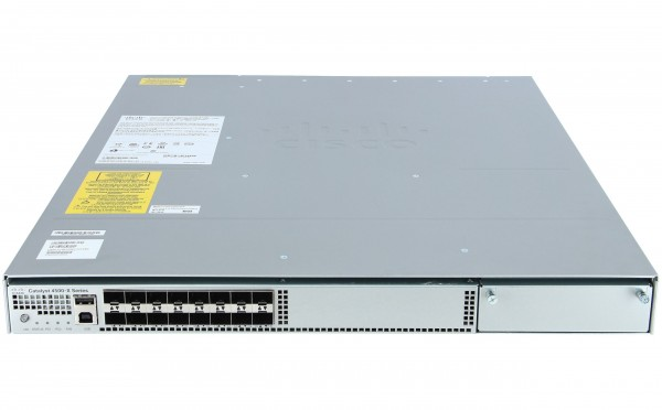 Cisco - WS-C4500X-16SFP+ - Catalyst 4500-X 16 Port 10G IP Base, Front-to-Back, No P/S