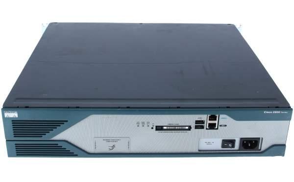 Cisco - CISCO2821 - 2821 w/ AC PWR,2GE,4HWICs,3PVDM,1NME-X,2AIM,IP BASE,64F/256D