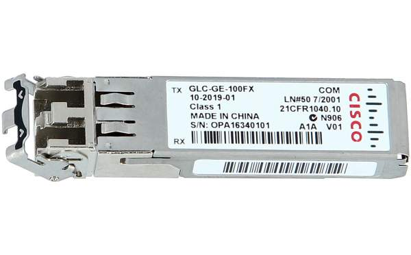 Cisco - GLC-GE-100FX= - 100FX SFP on GE SFP ports for DSBU switches