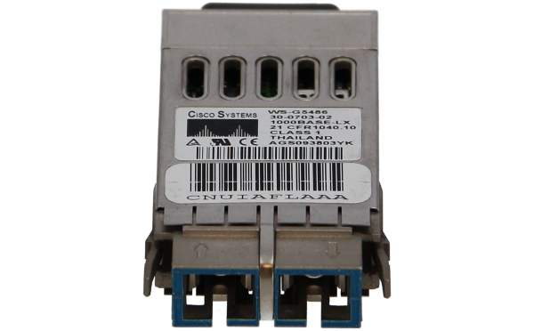 Cisco - WS-G5486= - 1000BASE-LX/LH long haul GBIC (singlemode or multimode)
