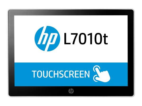"""HP - T6N30AA - L7010t Retail Touch Monitor - LED-Monitor mit KVM-Switch - 25.7cm/10.1"""""""