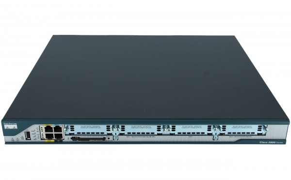 Cisco - CISCO2801-CCME/K9 - 2801 Voice Bundle w/ PVDM2-8,FL-CCME-24, SP Serv,64F/256D