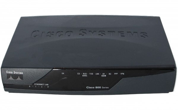 Cisco - CISCO876-K9 - ADSLoISDN Security Router