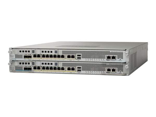 Cisco - ASA5585-S10P10-K9 - ASA 5585-X Chas w/SSP10,IPS SSP10,16GE,4GE Mgt,1 AC,3DES/AES