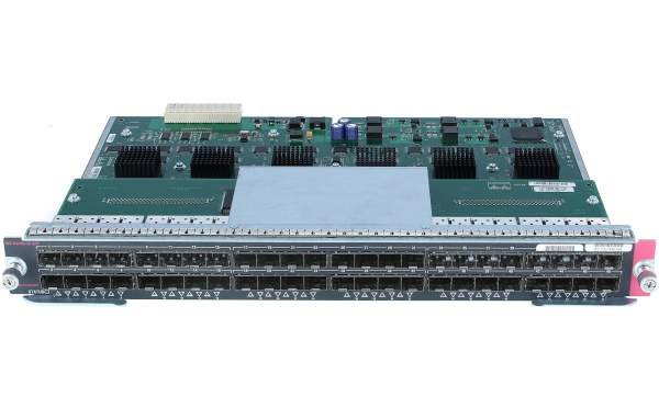 Cisco - WS-X4448-GB-SFP= - Catalyst 4500 48-Port 1000Base-X (SFPs Optional)