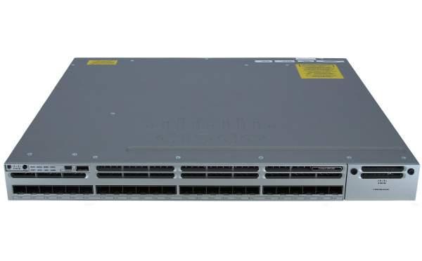 Cisco - WS-C3850-24S-E - Cisco Catalyst 3850 24 Port GE SFP IP Services