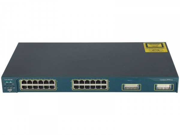 Cisco - WS-C2950G-24-EI - Catalyst 2950, 24 10/100 with 2GBIC slots, Enhanced Image