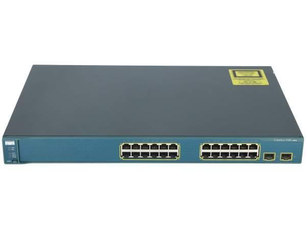 Cisco - WS-C3560-24TS-S - Catalyst 3560 24 10/100 + 2 SFP Standard Image