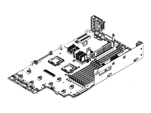 IBM - 43W8250 - SYSTEMBOARD FOR SYSTEM X3650
