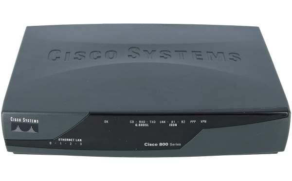 Cisco - CISCO871-SEC-K9 - Cisco 871 Security Bundle with Advanced IP Services