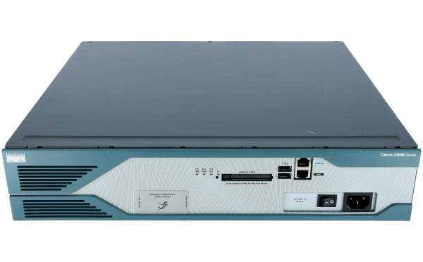 Cisco - CISCO2821-V/K9 - 2821 Voice Bundle,PVDM2-32,SP Serv,64F/256D