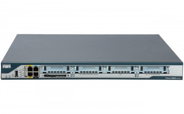 Cisco - C2801-VSEC-CCME/K9 - 2801 VSEC Bundle w/PVDM2-8,FL-CCME-24,Adv IP Serv,64F/256D