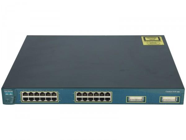 Cisco - WS-C3550-24-SMI - 24-10/100 + 2 GBIC ports: SMI