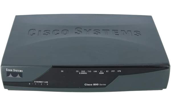 Cisco - CISCO857-K9 - ADSL SOHO Security Router