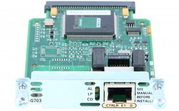 Cisco - VWIC2-1MFT-G703= - 1-Port 2nd Gen Multiflex Trunk Voice/WAN Int. Card - G.703