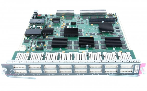 Cisco - WS-X6516A-GBIC= - Catalyst 6500 16-port GigE Mod, fabric-enabled (Req. GBICs)