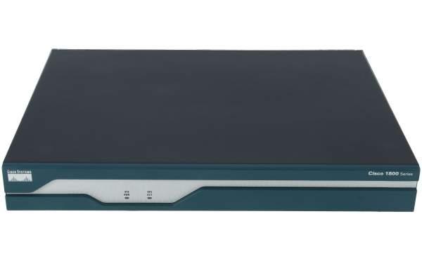 Cisco - CISCO1841 - Modular Router w/2xFE, 2 WAN slots, 32 FL/128 DR