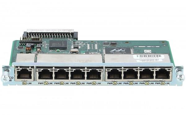 Cisco - HWIC-D-9ESW= - Nine port 10/100 Ethernet switch interface card