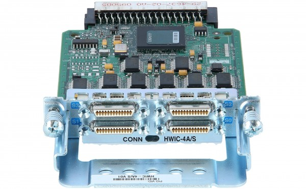 Cisco - HWIC-4A/S= - 4-Port Async/Sync Serial HWIC